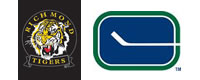 Richmond Tigers and Vancouver Canucks