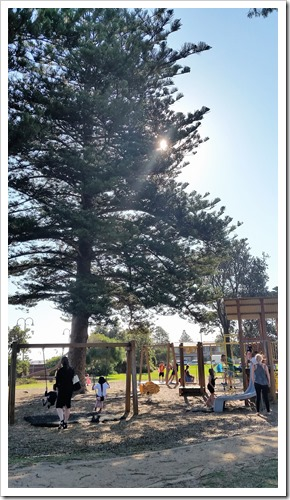 The playground at Altona beach.