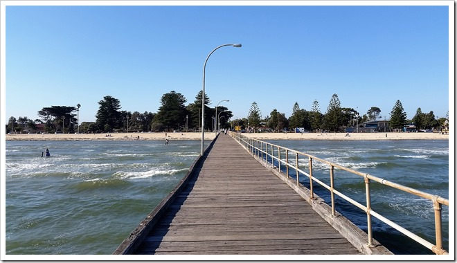 The pier at Altona beach.