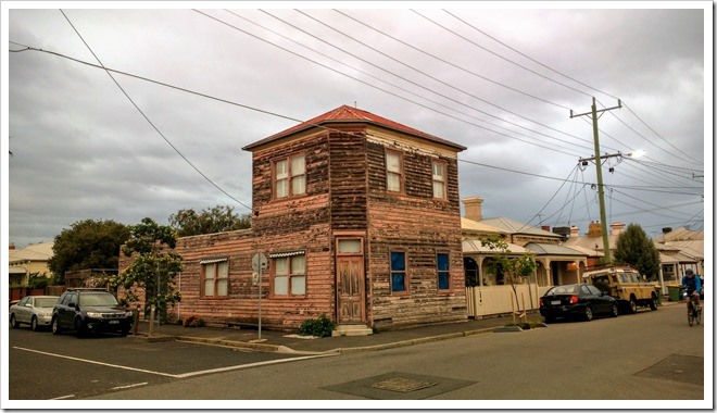 Old building in Yarraville.